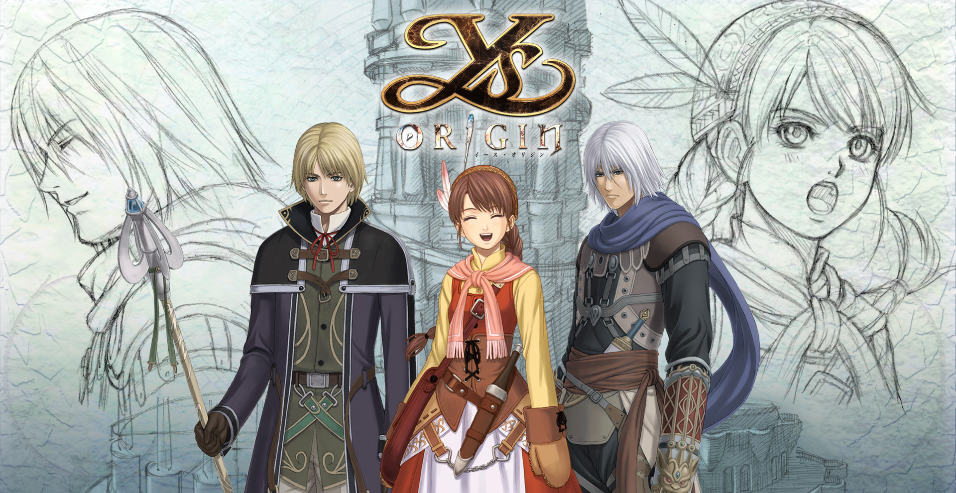 Ys Origin finally available on PS4!