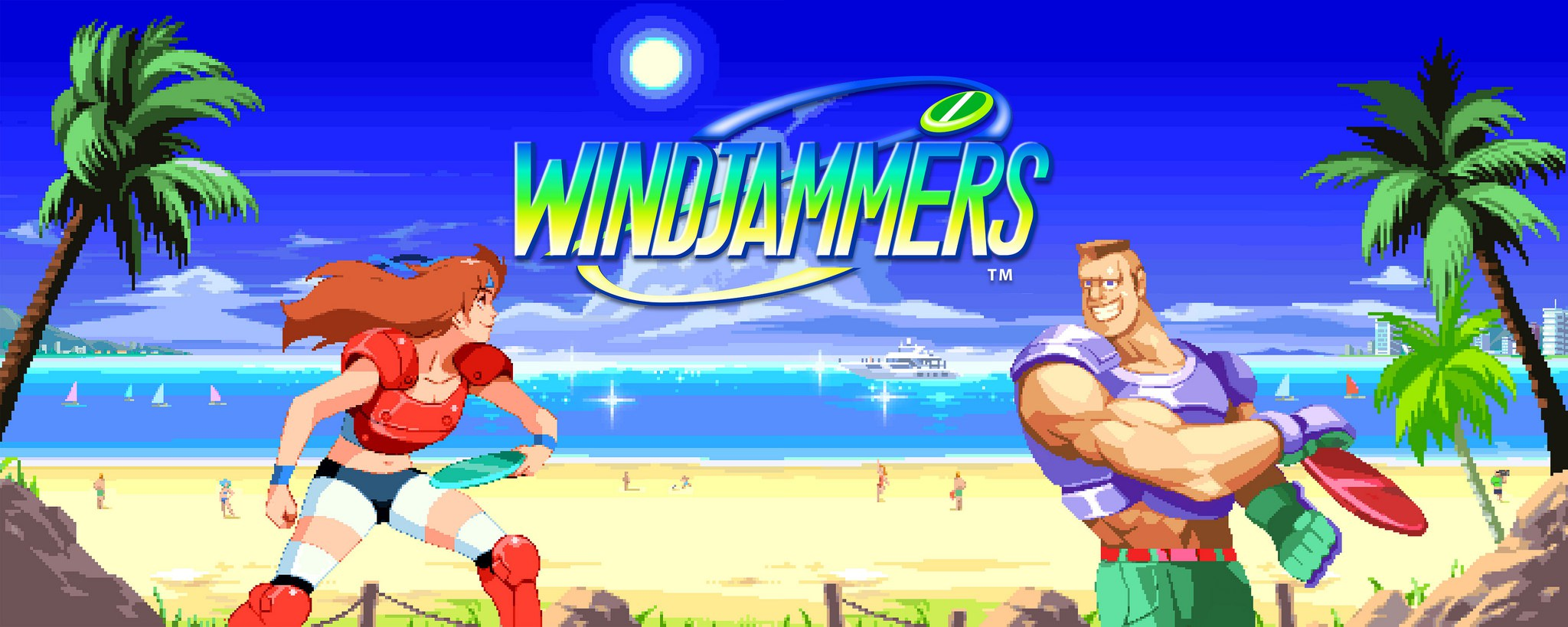 Windjammers is now available on Nintendo Switch!