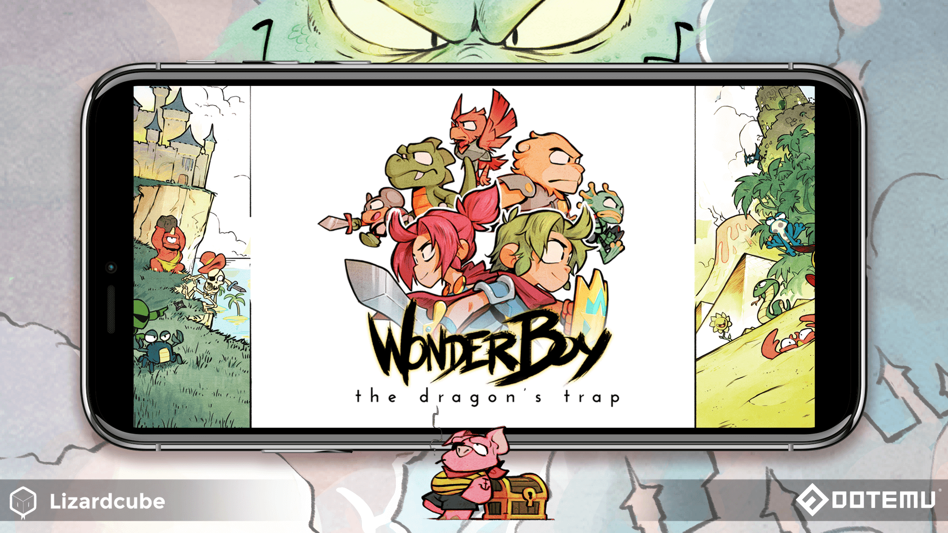 Wonder Boy The Dragon's Trap is now available on iOS and Android!