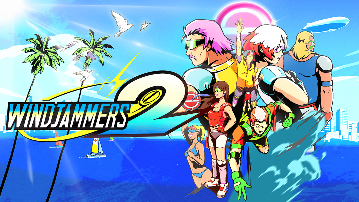 Summer is around the corner! Windjammers 2 gets a demo for the Steam Festival!