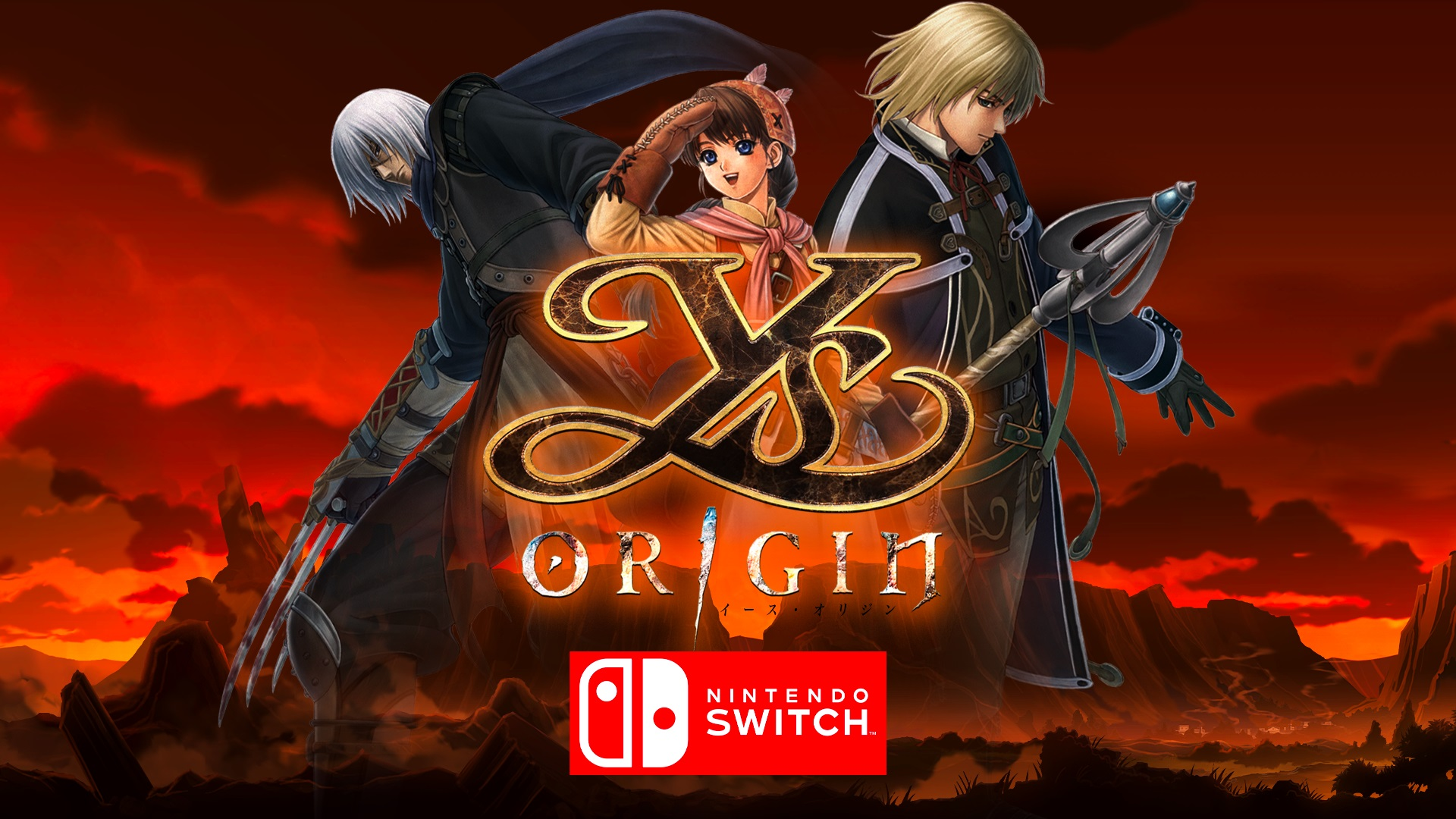 Ys Origin is reaching Nintendo Switch later this year!