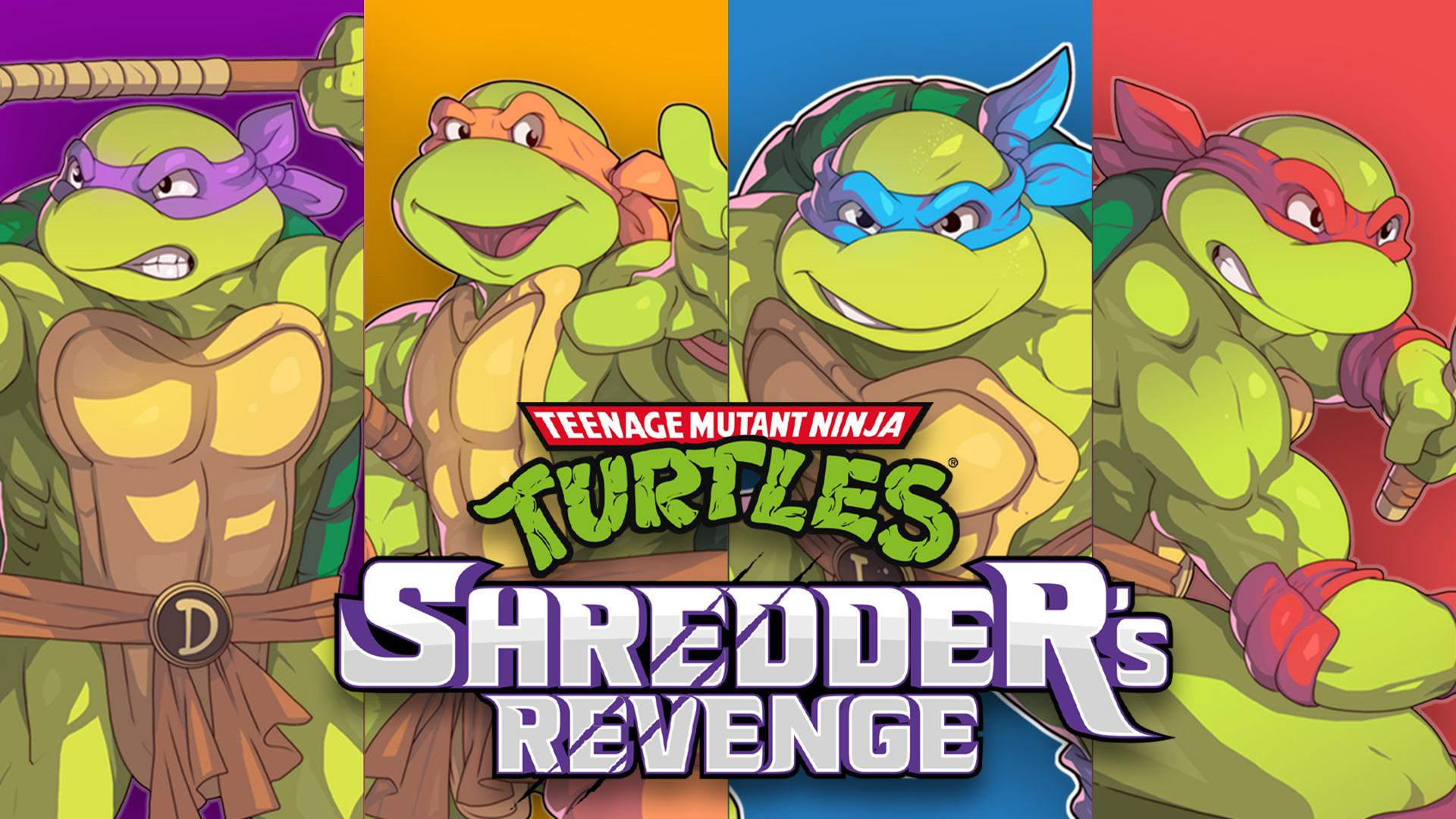 Teenage Mutant Ninja Turtles: Shredder's Revenge is coming to Nintendo Switch!