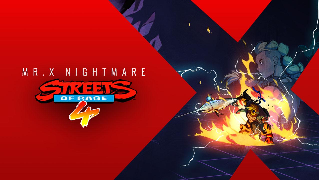 Streets of Rage 4 – Mr. X Nightmare