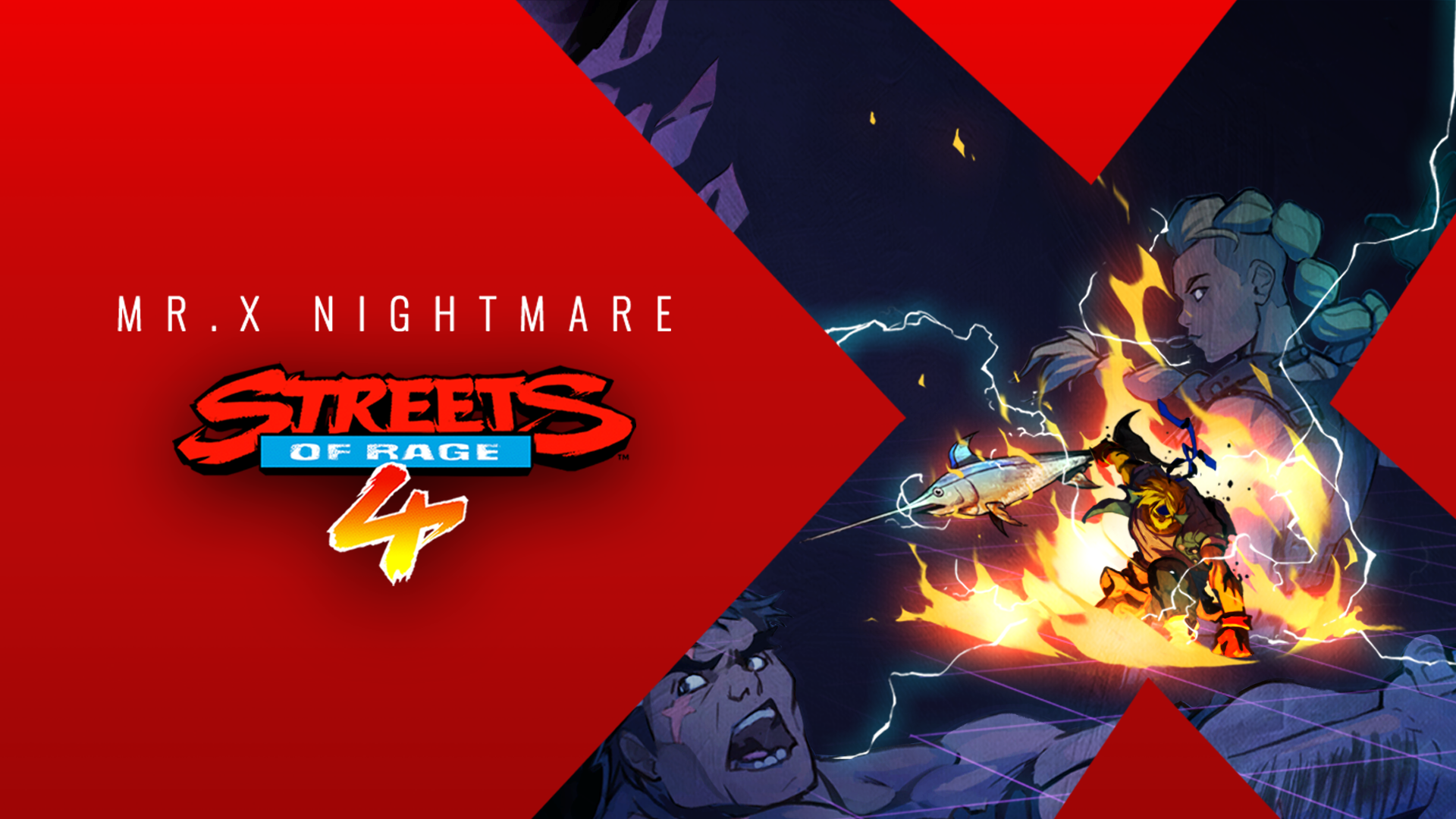 Max Thunder joins the fight in Streets of Rage 4 DLC Mr. X Nightmare