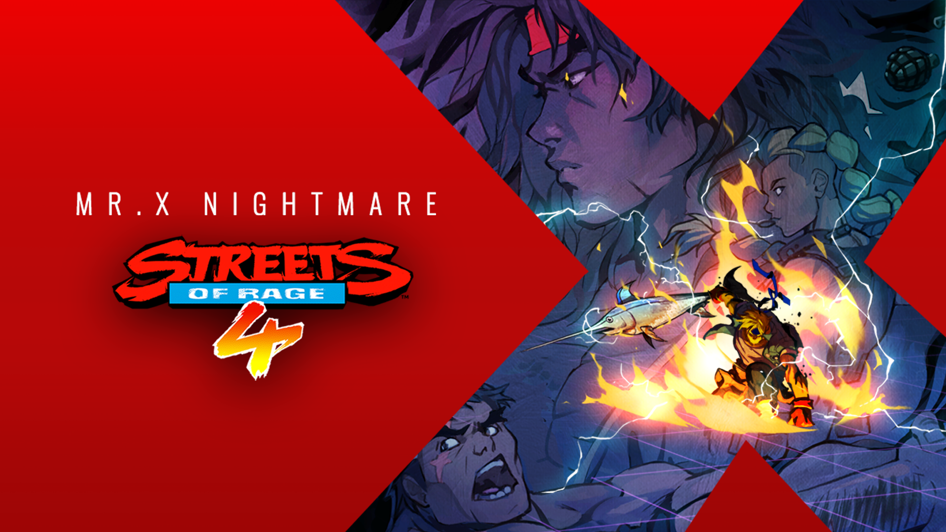 Shiva joins forces with Estel and Max in Streets of Rage 4 DLC Mr. X Nightmare