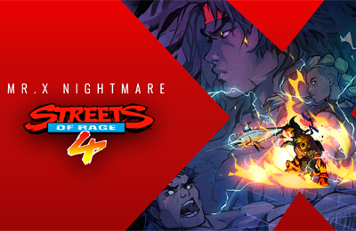 Streets of Rage 4 DLC Mr. X Nightmare announced for July 15!