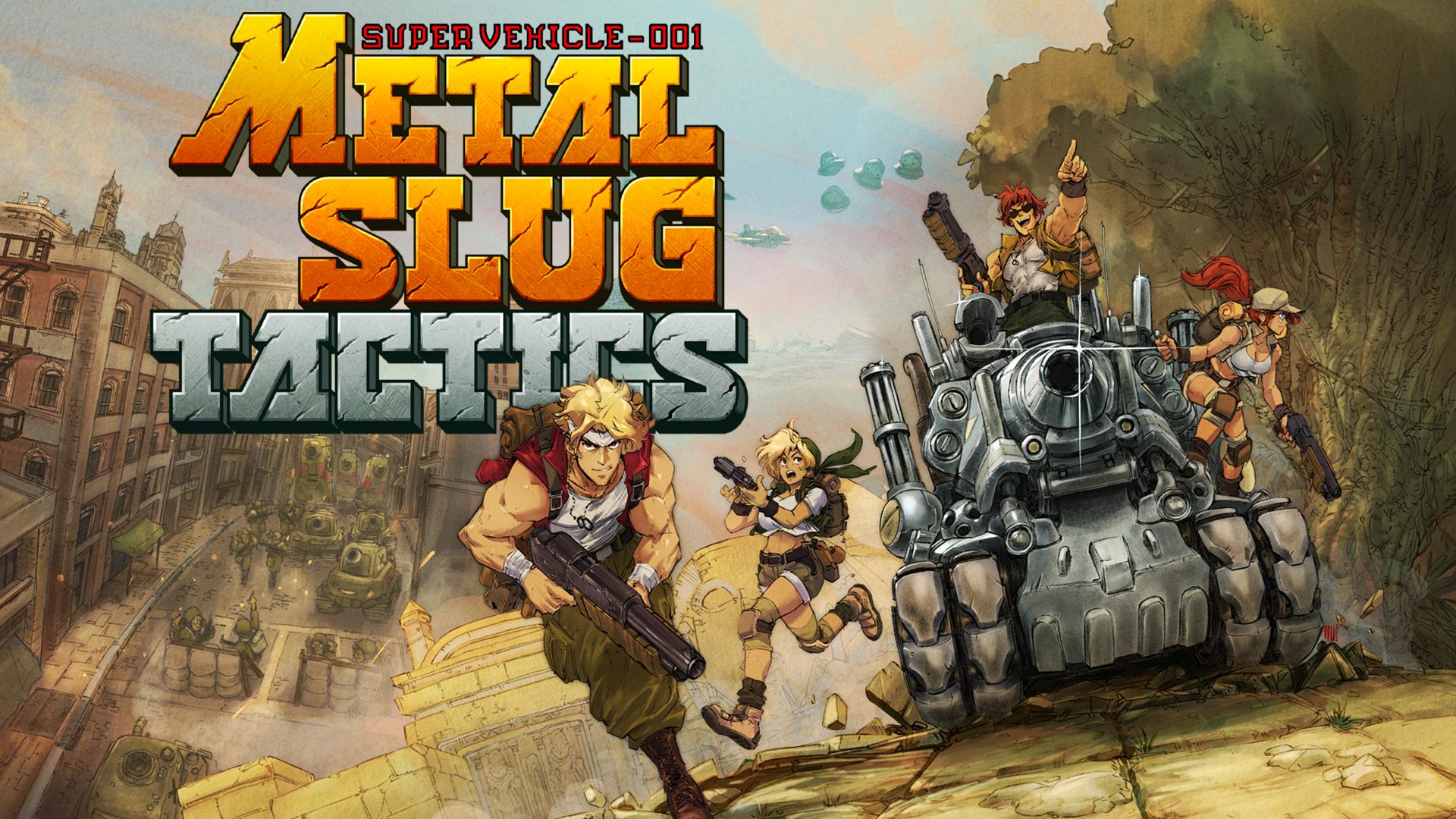 METAL SLUG is back with Metal Slug Tactics!
