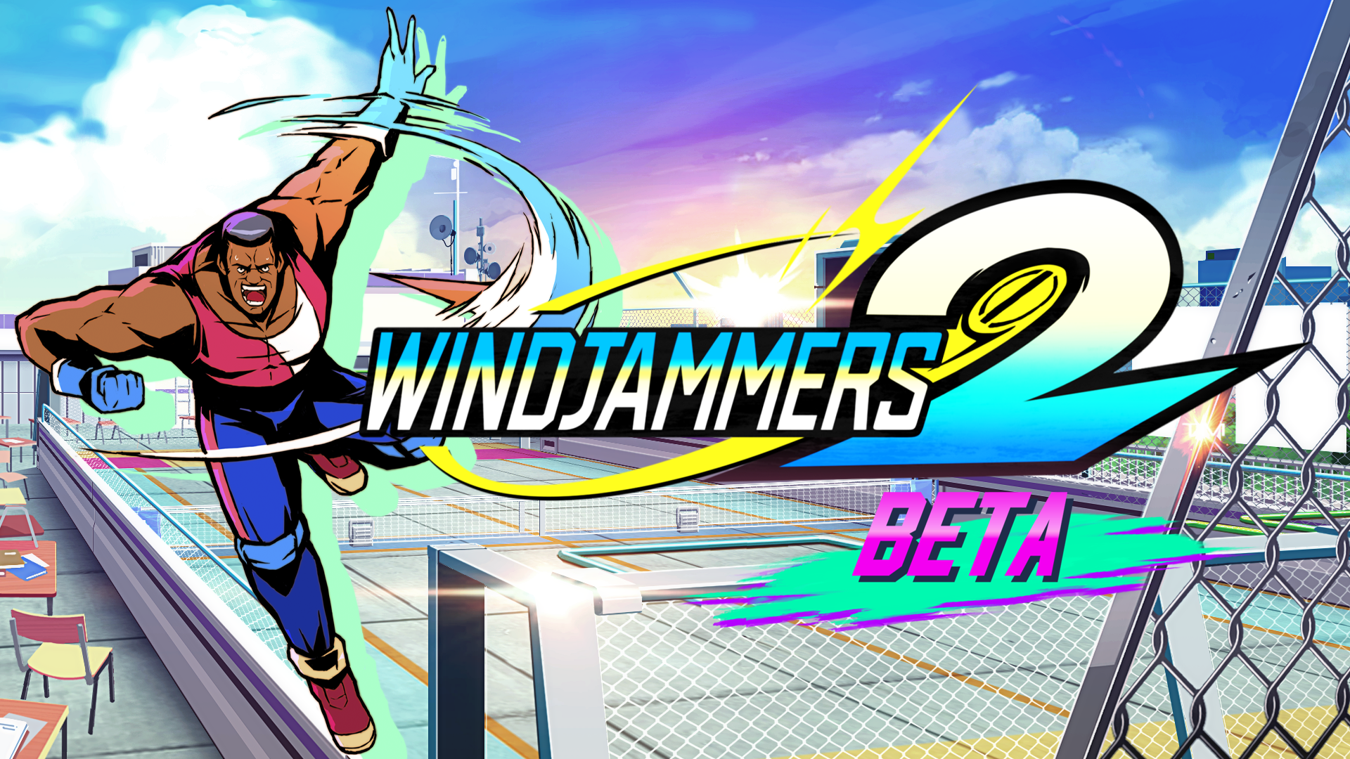 Learn how to play Windjammers 2 with Windjammers Legend Gary Scott himself!!